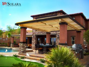 Solara Patio Cover can provide