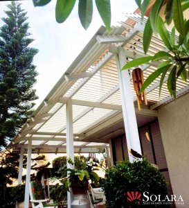Solara offers the advanced and affordable louvered roof system.