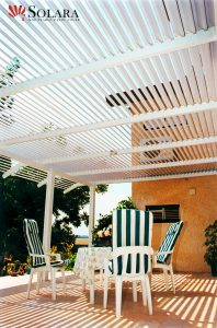 Entertain and enjoy the company of family and friends under a Solara Patio Cover.